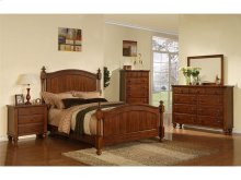 CH555NS Chatham Post Nightstand