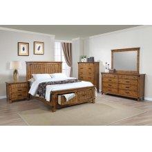 Brenner Rustic Honey Eastern King Five-piece Set