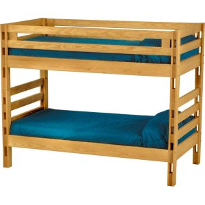 Bunkbed, Twin over Twin, extra-long