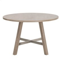 """Cross 47"""" Round Dining Table"""