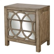 Liv360 Mirrored Nightstand