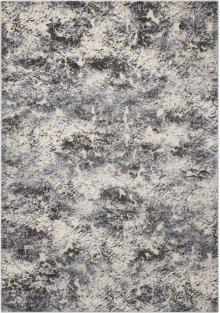 Gleam Ma603 Ivory/slate Rectangle Rug 5'3'' X 7'3''