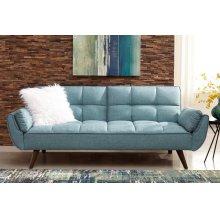 Skylar Transitional Blue Sofa Bed