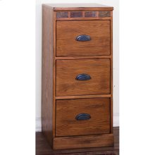 Sedona 3 Drawers File Cabinet