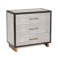 Maia 3 Drawer Chest - Grey