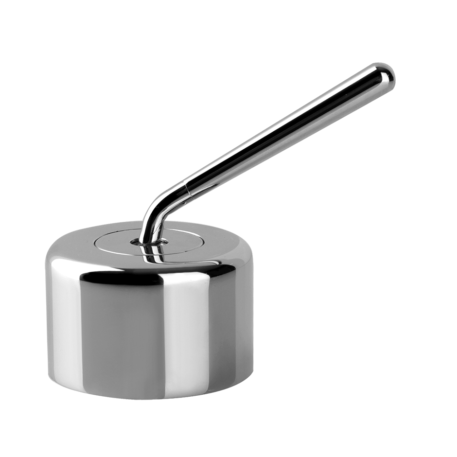 Deck-mounted washbasin mixer control For spouts 35299, 35399, and 35319 Drain not included - See DRAINS section