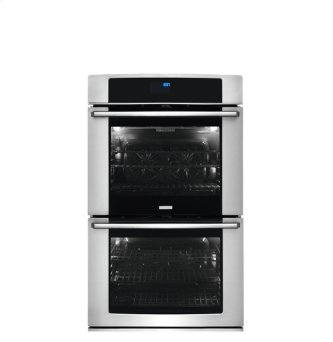 30'' Electric Double Wall Oven with Wave-Touch(R) Controls