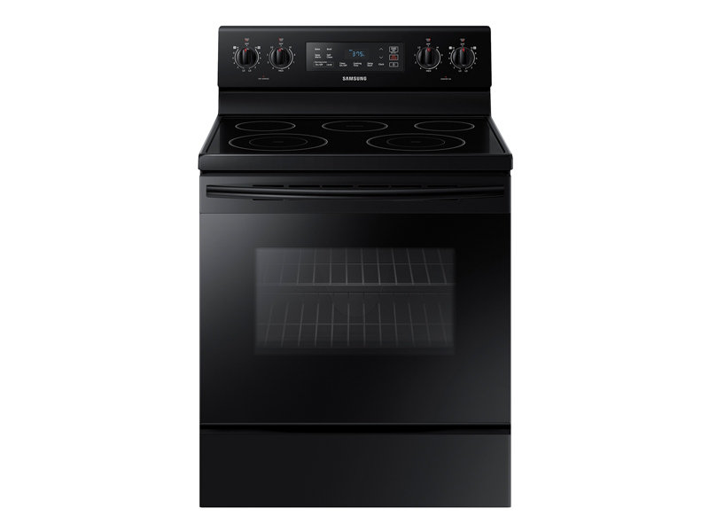 5.9 cu. ft. Freestanding Electric Range with Two Dual ...