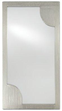 Morneau Silver Large Mirror - 48h x 26w x 1.75d