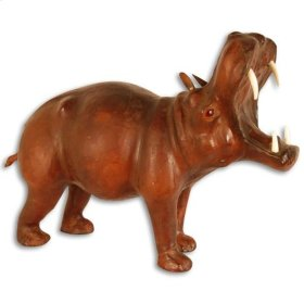 Leather Hippo Large