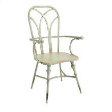 Georgette Metal Arm Chair
