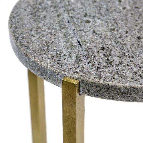 Zahara Circular Drink Table - Grey