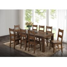 Coleman Rustic Golden Brown Dining Chair