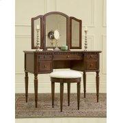 """Warm Cherry"" Vanity, Mirror & Bench Product Image"
