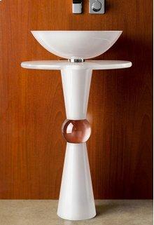 Cono Pedestal - Shown with 210 Basin