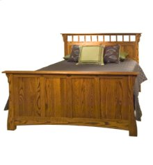 Prairie Home Queen Bed with drawer units
