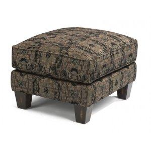 FLEXSTEELHOMEPerth Fabric Ottoman