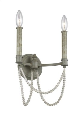 2-light Wall Sconce