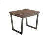 Porto End Table - Brown