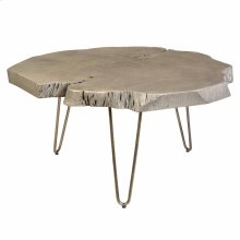 Nila Coffee Table in Light Grey