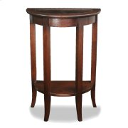 Glass Top Demilune Hall Stand #10035 Product Image