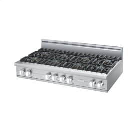 "White 48"" Custom Sealed Burner Rangetop - VGRT (48"" wide, eight burners)"