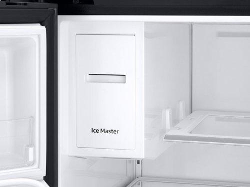22 cu. ft. Capacity Counter Depth 4-Door French Door Refrigerator with Family Hub Recessed Handles