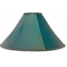 "20"" Teal Lampshade"