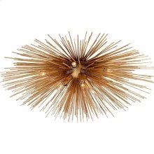 Visual Comfort KW4070G Kelly Wearstler Strada 10 Light 28 inch Gild Flush Mount Ceiling Light, Kelly Wearstler, Medium