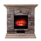 Juna Faux Stone Fireplace Product Image