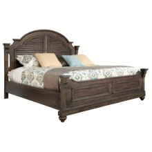 Homestead Louvered King Bed