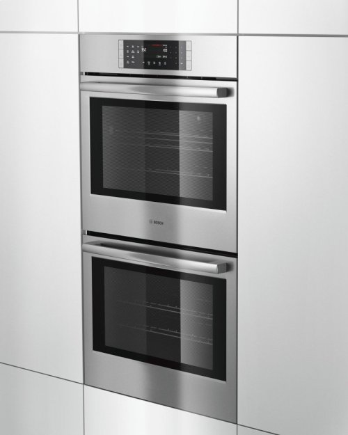 """800 Series, 30"""", Double Wall Oven, SS, EU conv./Thermal, Touch Control"""