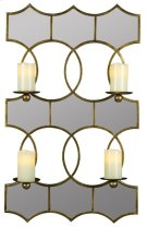 Lia Mirrored Candle Holder Product Image