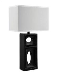 Bronze Block Lamp