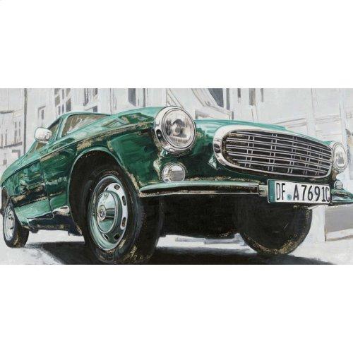 Classic Euro Car Green Wall Décor