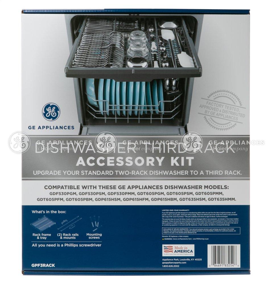 GPF3RACK GE Dishwasher Third Rack Accessory Kit | Harvala