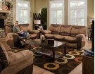 Chaise Rocker Recliner - Saddle Product Image