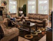 Reclining Sofa - Saddle Product Image