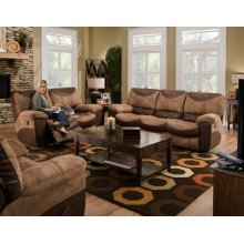 Reclining Loveseat - Saddle