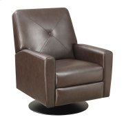 Swivel Recliner Kd Brown/black Base Product Image