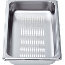 "Perforated Cooking Pan-Half Size, 1 5/8"" Deep CS1XLPH"