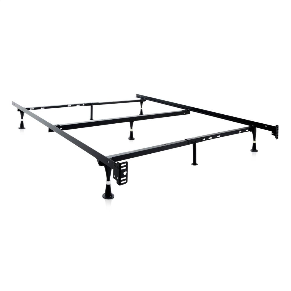 Adjustable Queen Full Twin Bed Frame Wheels Malouf in Mobile AL