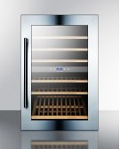 51 Bottle Fully Integrated Dual Zone Wine Cellar With Digital Controls and LED Lighting Product Image