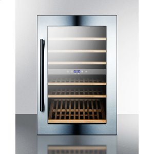 Summit51 Bottle Fully Integrated Dual Zone Wine Cellar With Digital Controls and LED Lighting