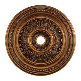 English Study Medallion 32 Inch in Antique Bronze Finish