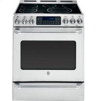 "GE Cafe Series 30"" Free Standing Radiant Range with Baking Drawer"