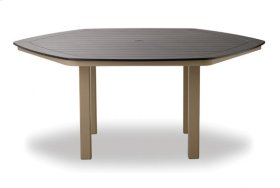 """62"""" Hexagonal Table Top Only w/ hole"""