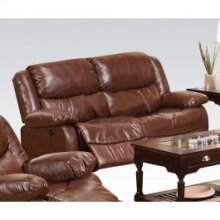 Brown Loveseat W/power Motion