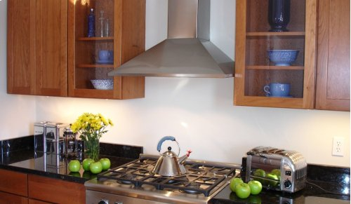 """36"""" Synthesis - Wall Hood w/300 cfm Blower, LED controls"""
