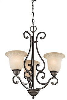 Camerena 3 Light Chandelier Olde Bronze®
